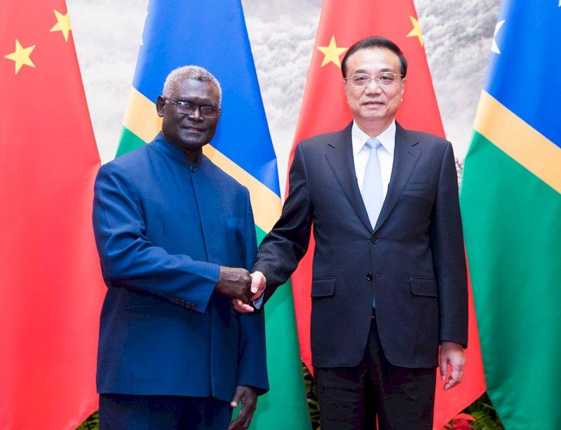 索國總理正式訪問北京 與中簽署新協議