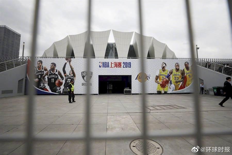 NBA上海球迷之夜取消 公開採訪臨時宣布延期