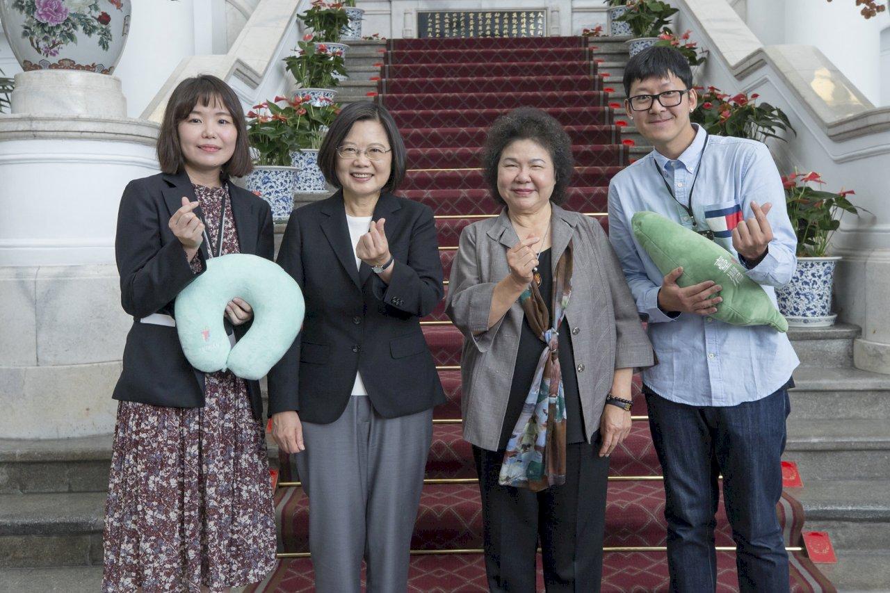 難忘借宿總統府 韓攝影師:更努力宣傳台灣