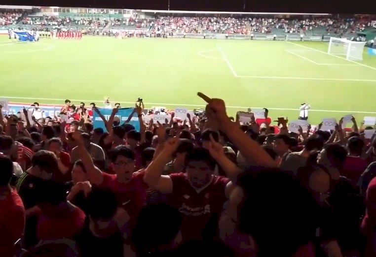 世界盃資格賽演奏中國國歌 球迷噓聲香港足總挨罰