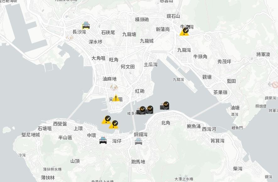 香港示威者愛用app 蘋果HKmap.live下架