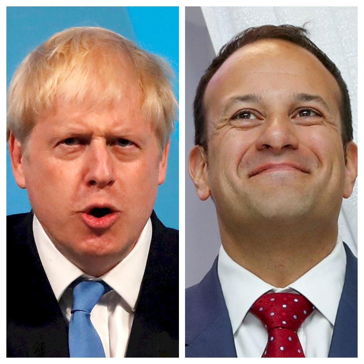 英相強生與愛爾蘭總理會談 求儘速解脫歐僵局
