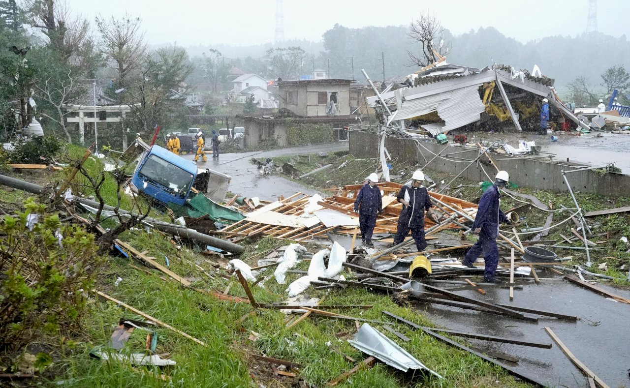 日本研究 暖化恐使颱風速度減緩而更易致災