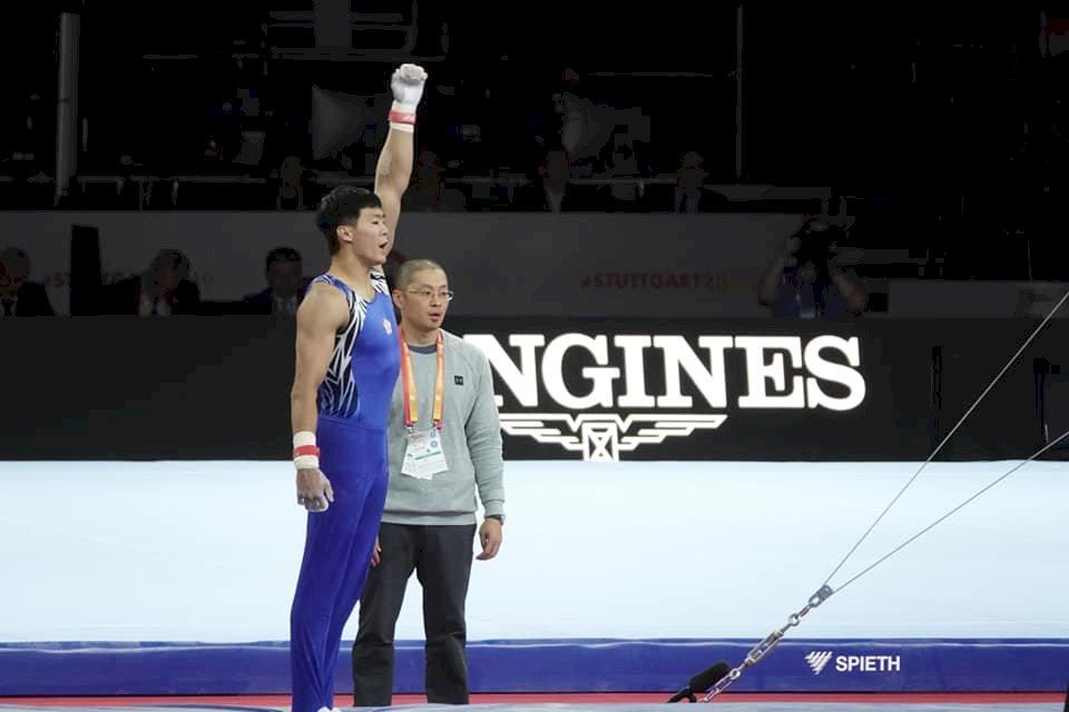 體操世錦賽男子全能  李智凱唐嘉鴻無緣獎牌