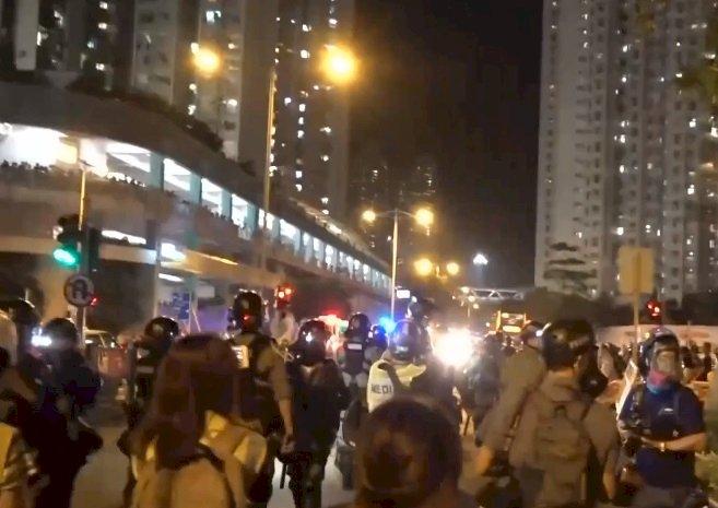 反送中全港罷買日鎖定藍店 港鐵已關閉8站