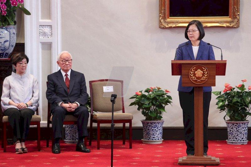 蔡總統宣布 張忠謀再任APEC領袖代表