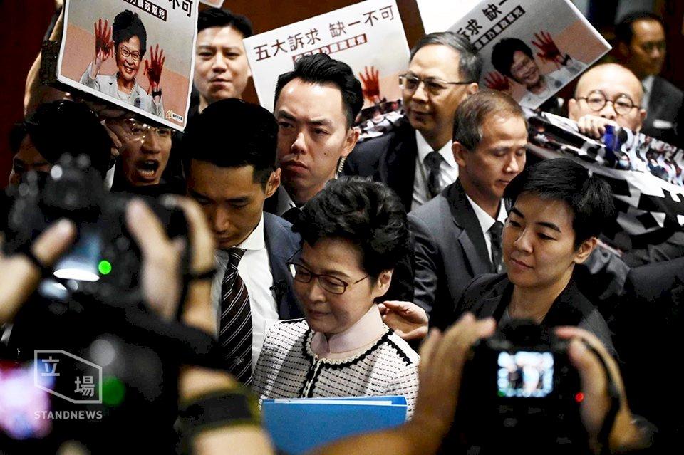 林鄭施政報告強調「一國兩制」 未回應五大訴求