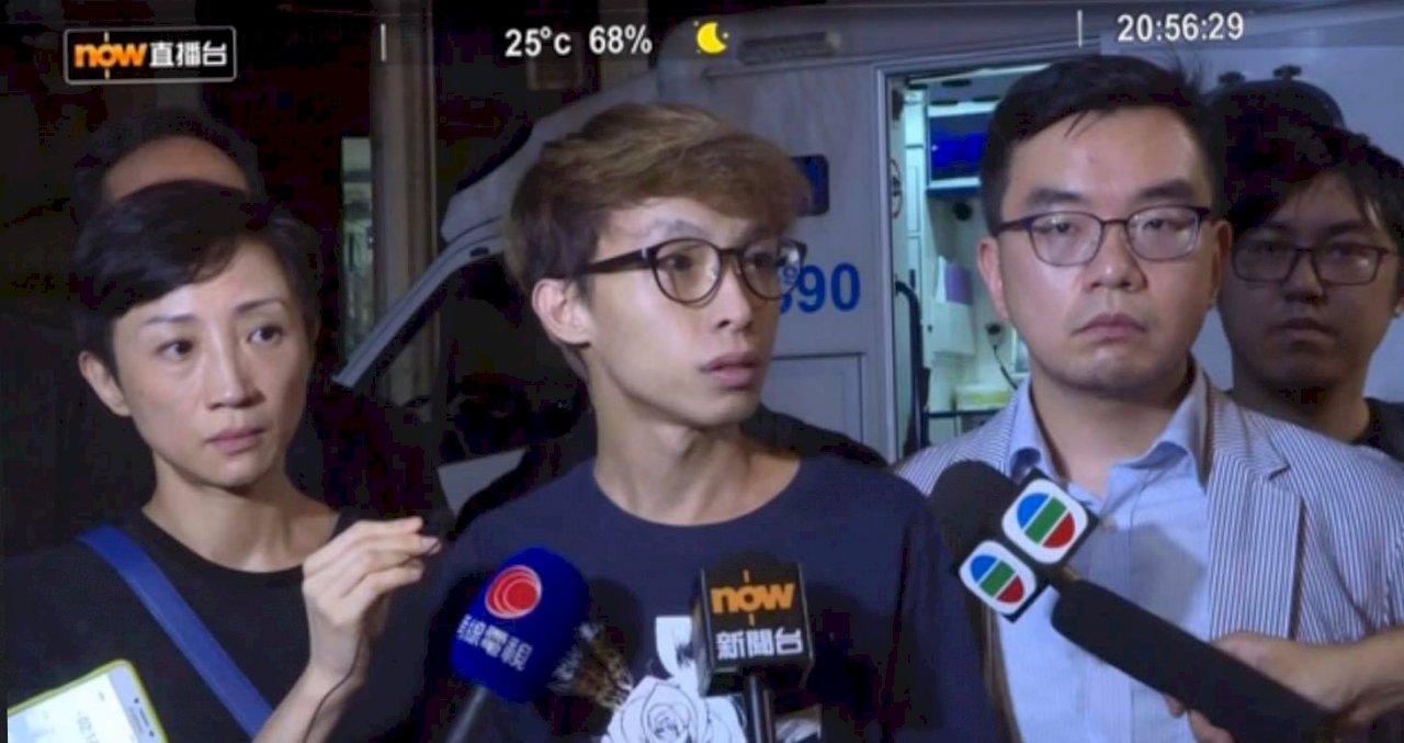 民陣:岑子杰完成急救 情況穩定