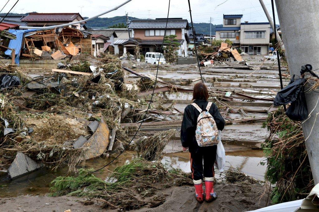 颱風哈吉貝襲日已74死218傷 逾萬棟民宅淹水