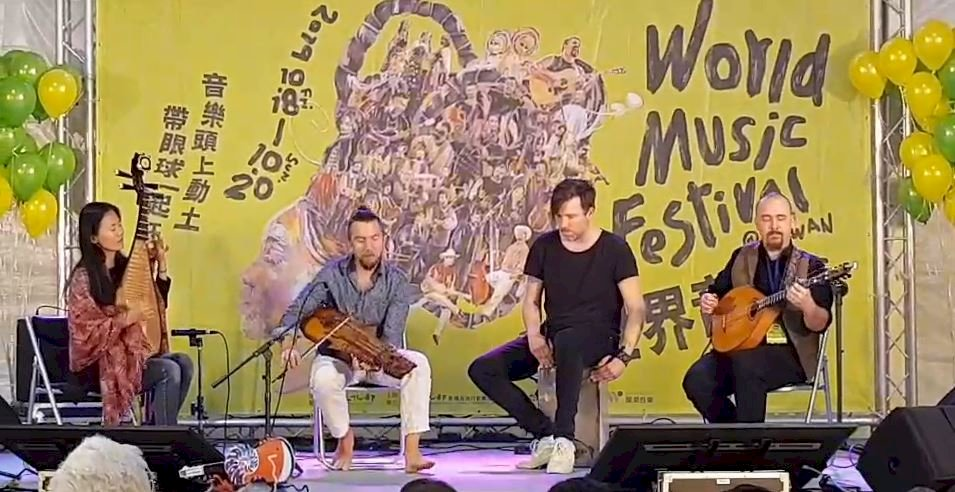 「2019世界音樂節@台灣」開幕  帶著眼球一起狂歡