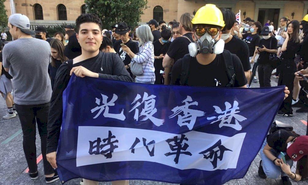 中國強推港區國安法 澳洲學生毋懼威脅發動示威