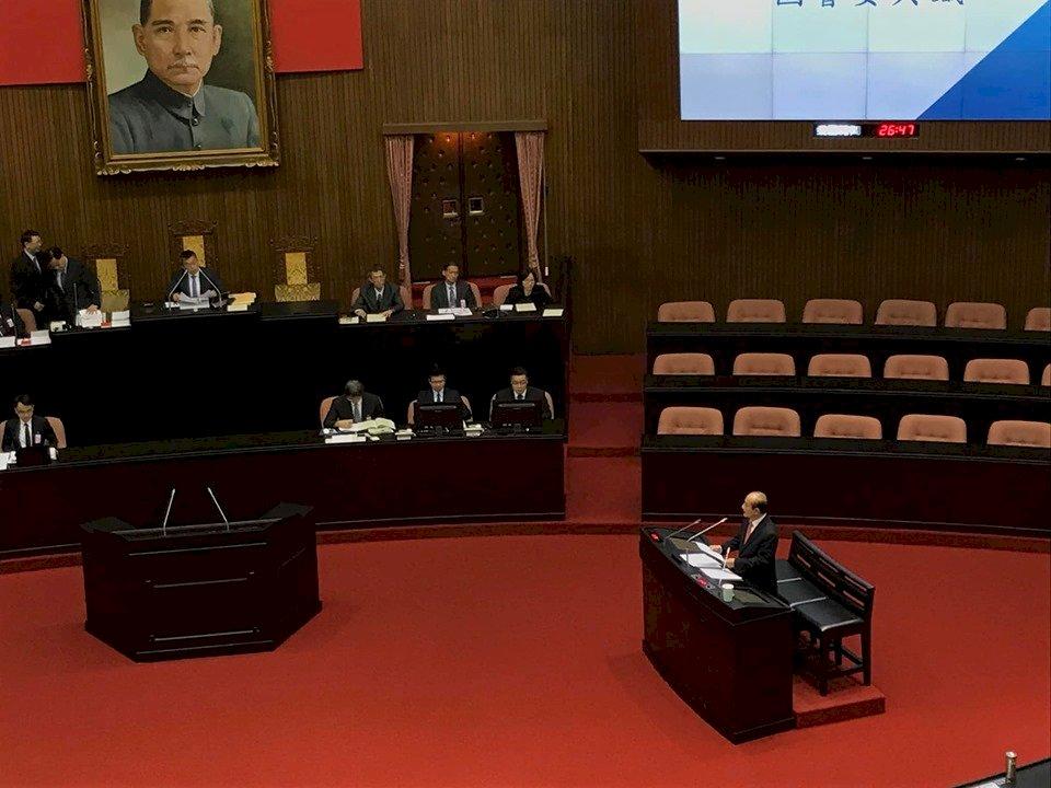 告別44年立院生涯 王金平最終質詢盼「國家為重」