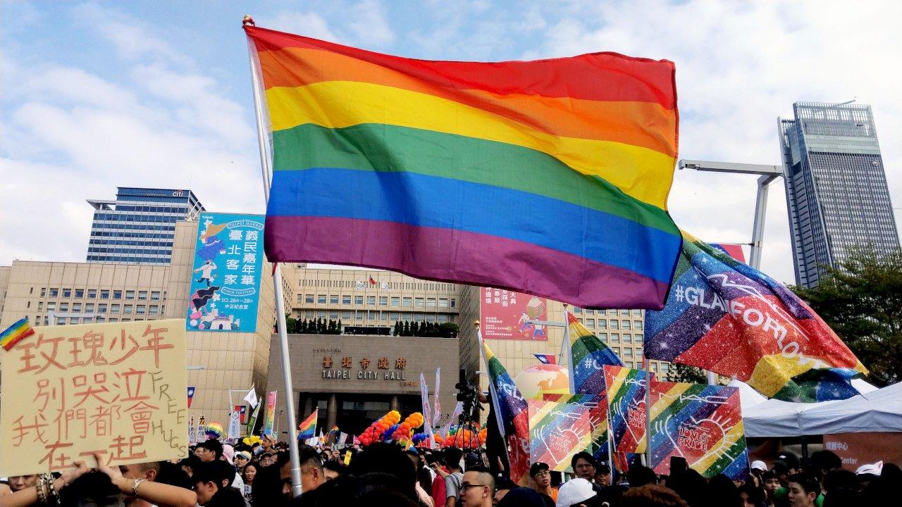 同志遊行今登場 外國同志來台同慶同婚元年