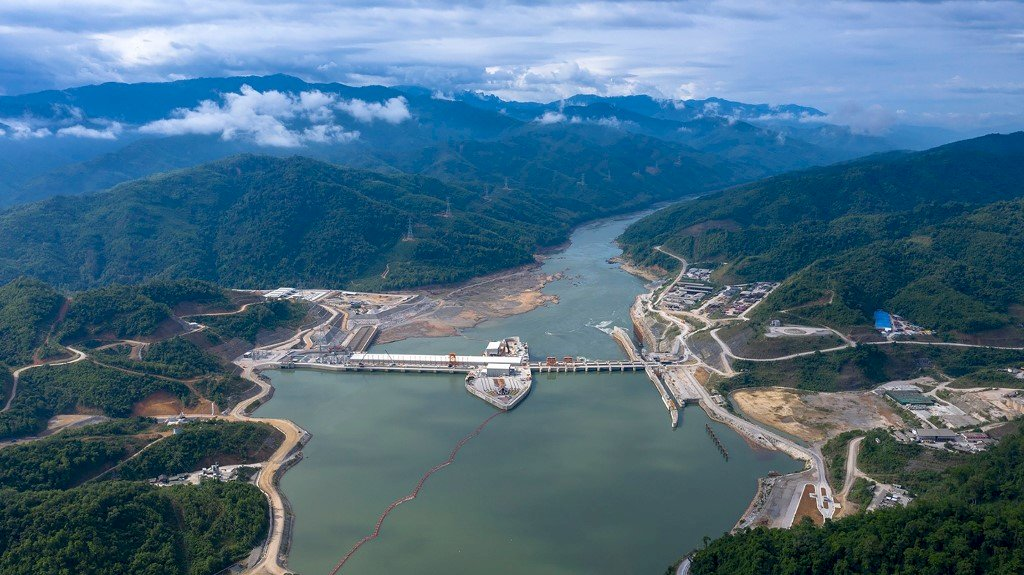 中國國企在寮國建水力發電廠 環保人士抗議