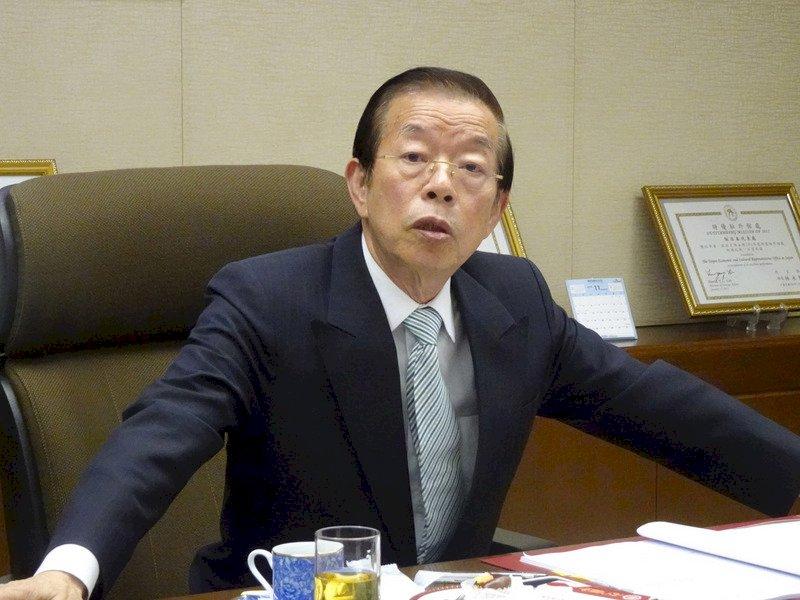 日本改釣魚台地籍名 謝長廷駁沒護主權之說