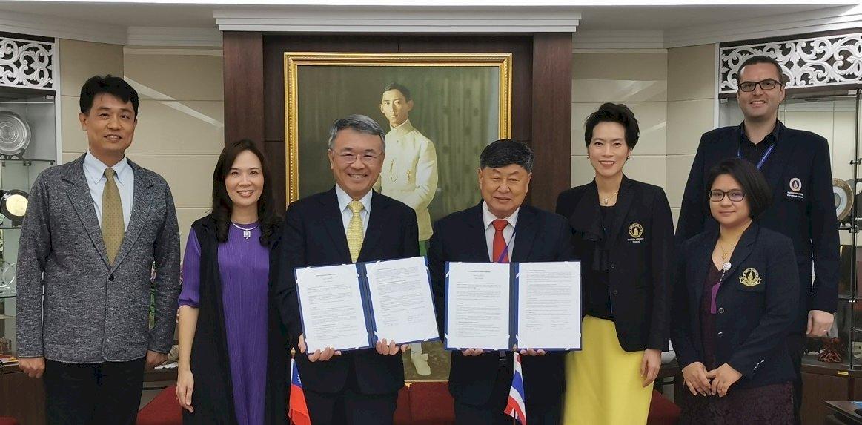 新南向交流 義大與泰國兩大名校締結姐妹校