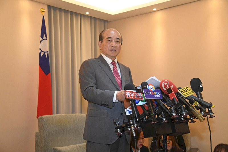 王金平宣布退出2020總統大選 證實宋楚瑜會參選