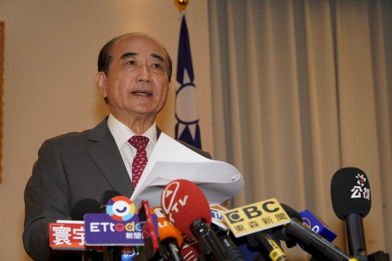 參加海峽論壇 王金平:若總統要見我一定遵從