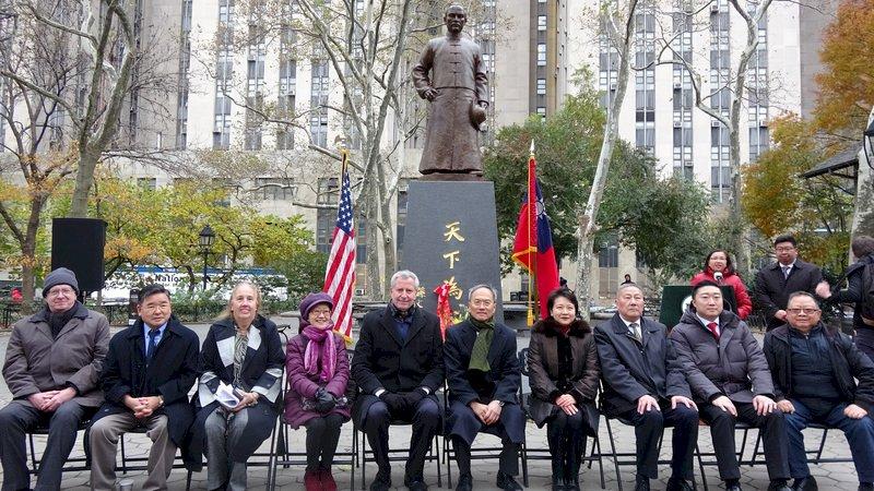 8年努力實現 國父孫中山銅像永久豎立紐約