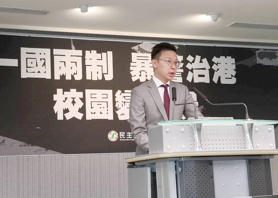 港警攻擊校園 民進黨:六四天安門屠殺學生翻版