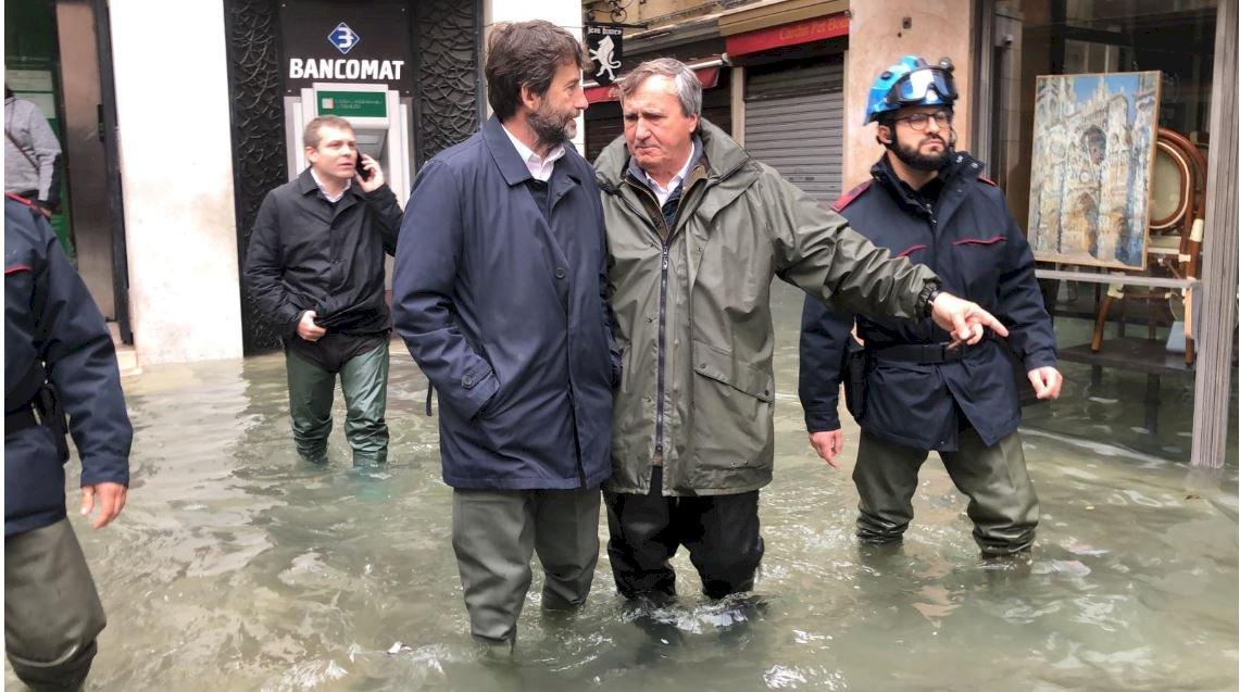 威尼斯聖馬可廣場再因洪水關閉 佛羅倫斯也發警報