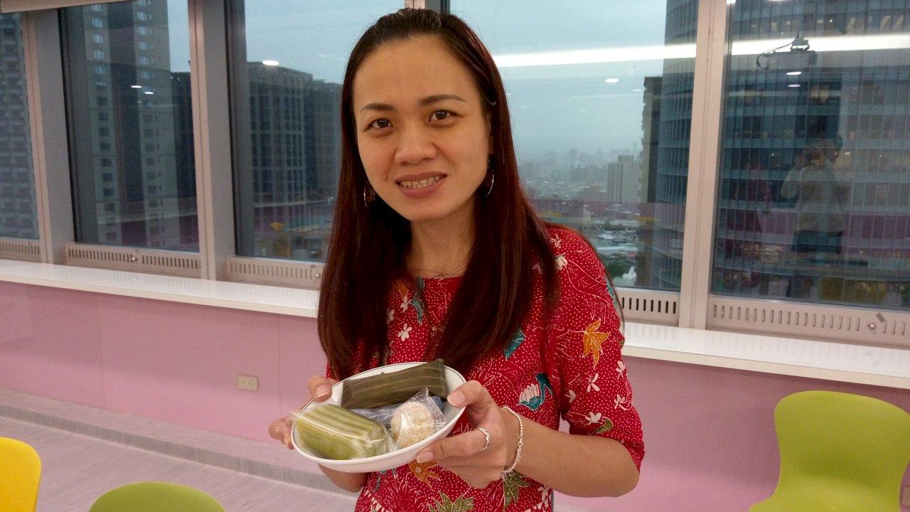 印尼新住民回娘家訪母校 驚喜促成台印校際筆友班