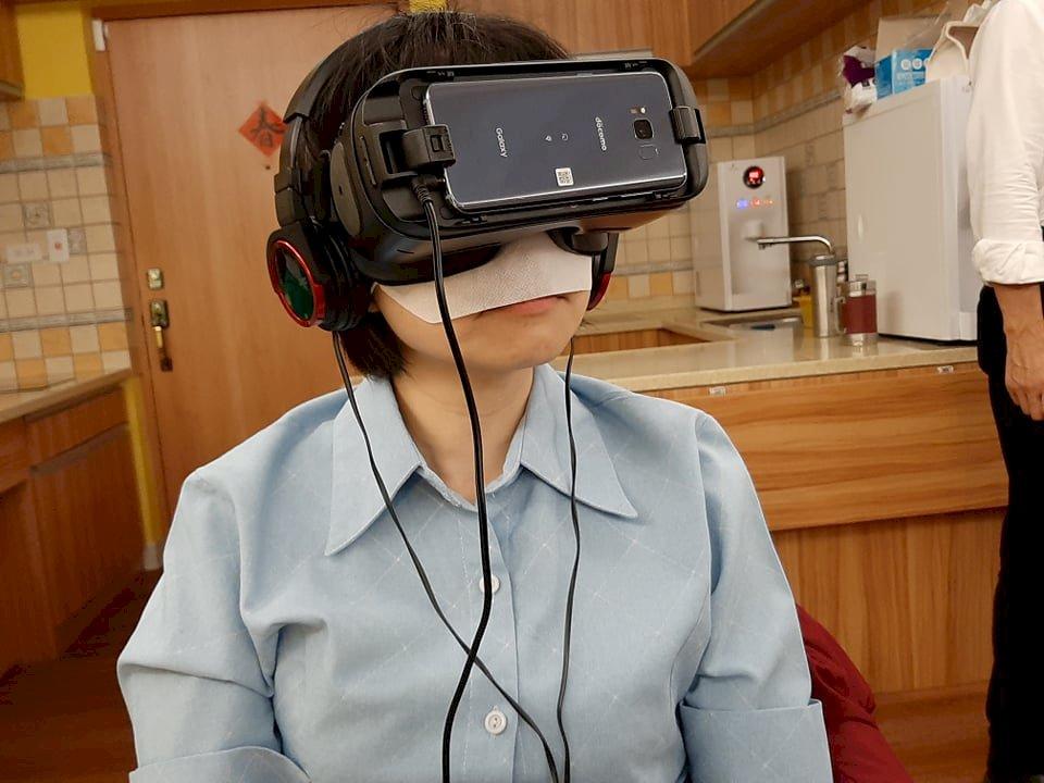 失智「視界」什麼樣? VR科技告訴你
