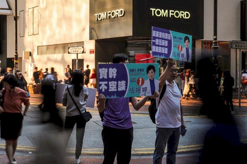 香港選舉逾274萬人投票 投票率66.5%