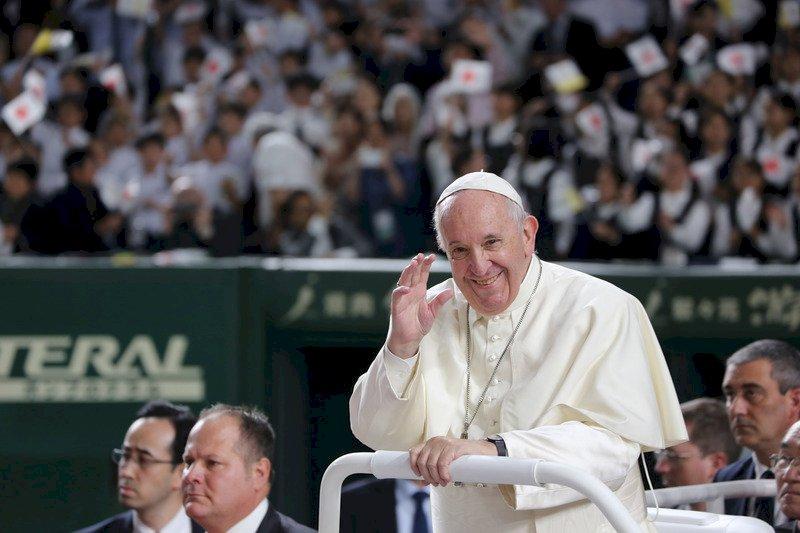 教宗方濟各想訪問中國 NHK:很難
