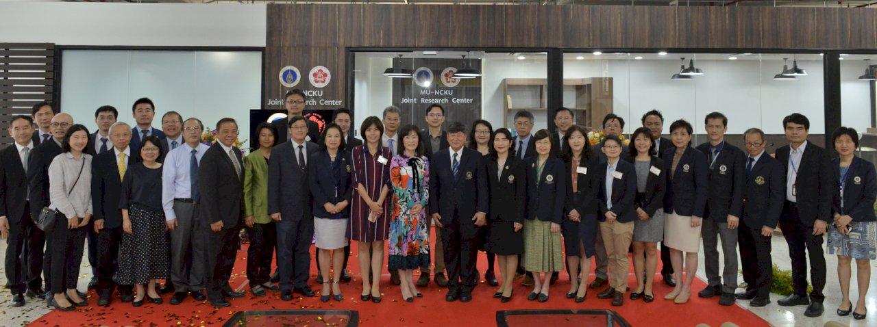成大週泰國落幕 續邀瑪希竇大學展開三邊合作案