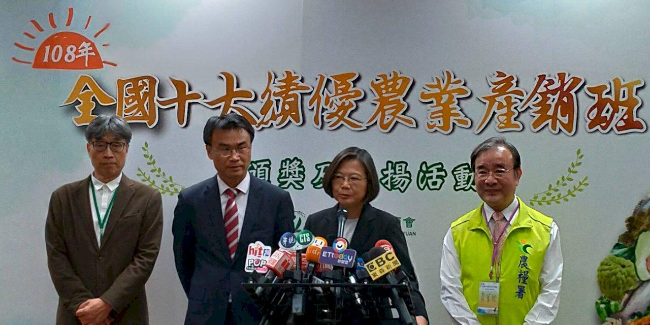 共諜案國台辦稱民進黨騙局 總統:怎會對台灣內政講得如此清楚?