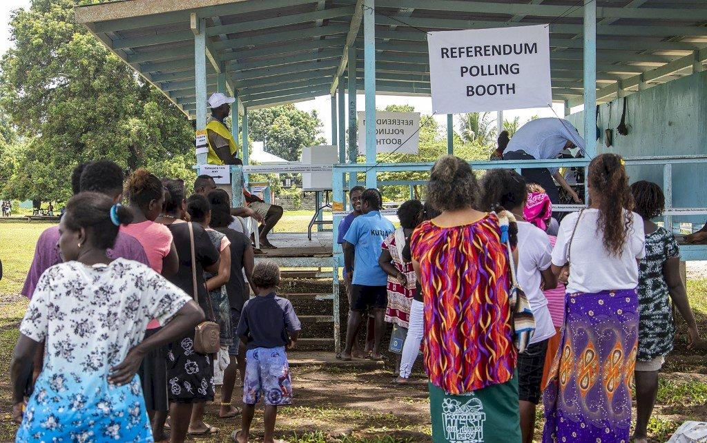 布干維爾獨立公投開票 98%選民支持脫離巴紐