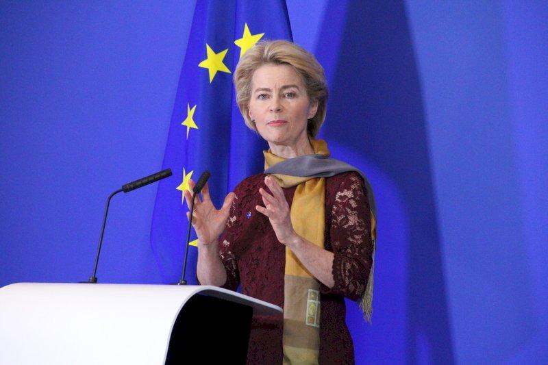 歐盟首位女主席上任 誓言讓歐洲成為冠軍