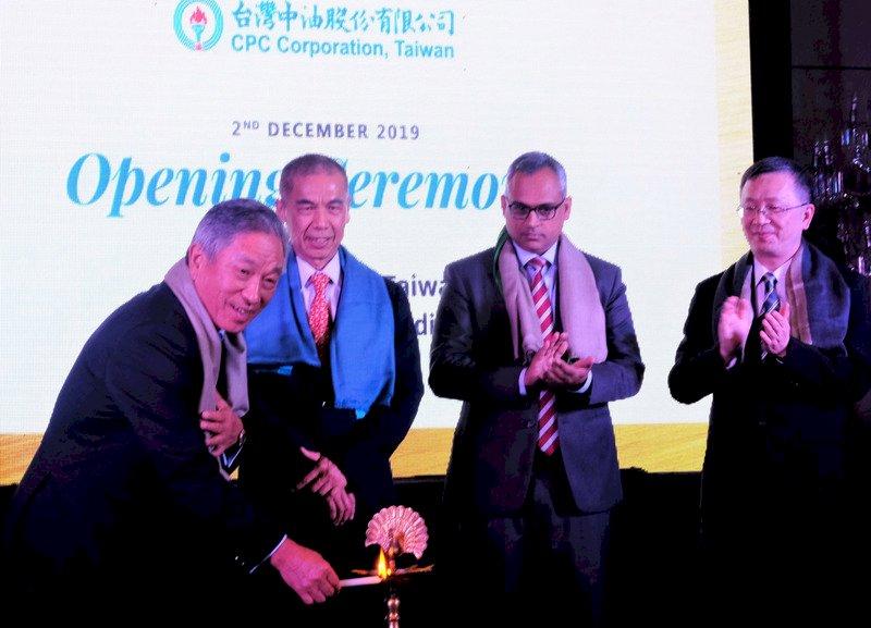 中油新德里辦事處揭牌 與印度石油共推投資案