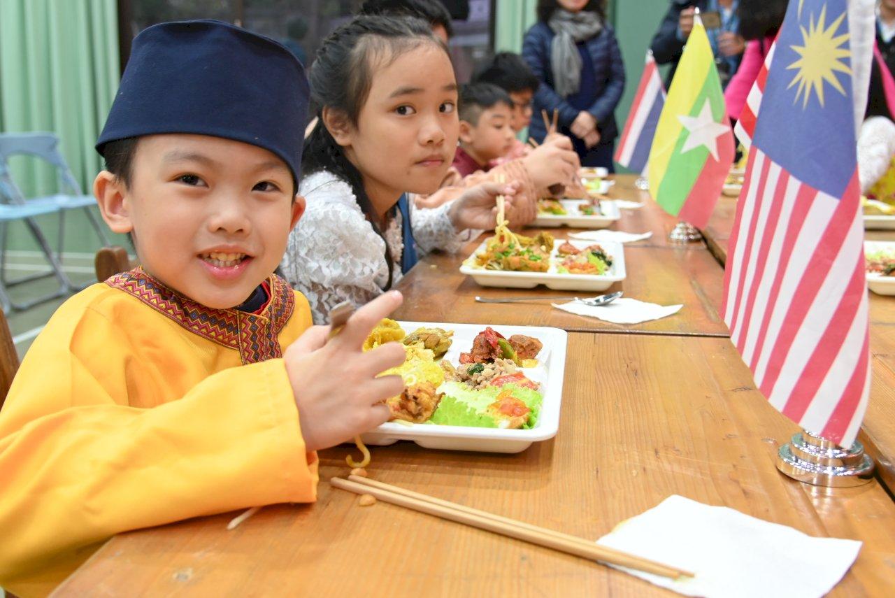 新北營養午餐再升級 吃得到東南亞7國美食