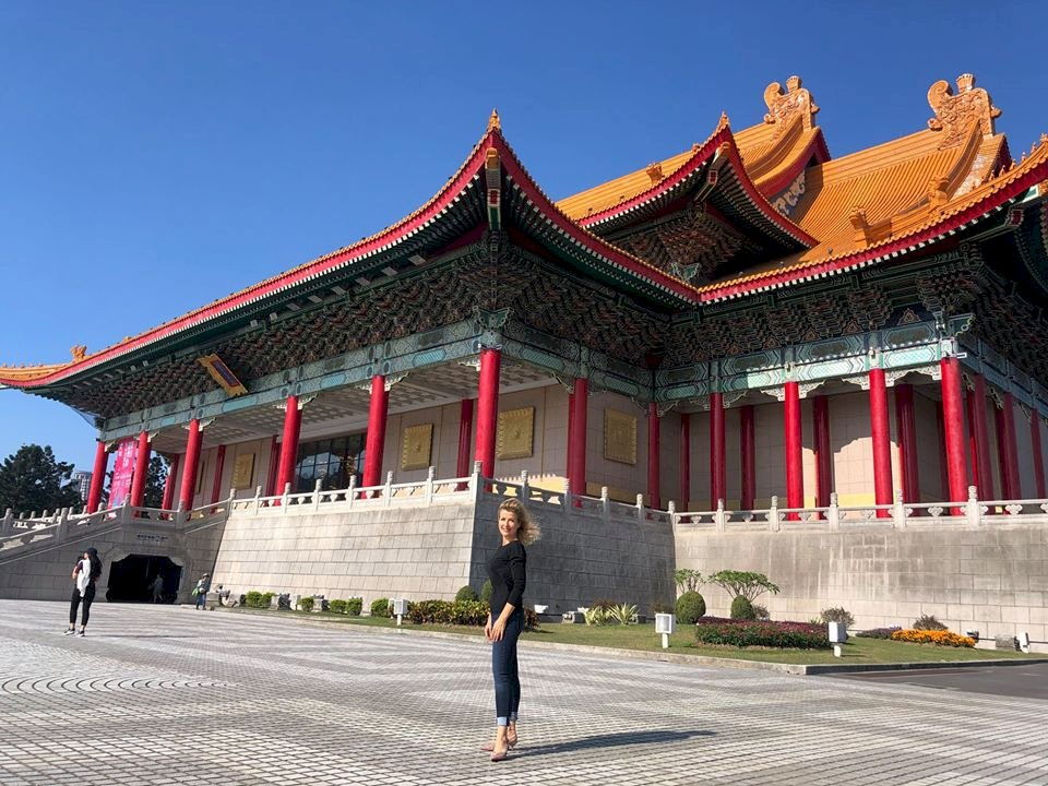 小提琴女神慕特愛台灣  欣賞國家音樂廳