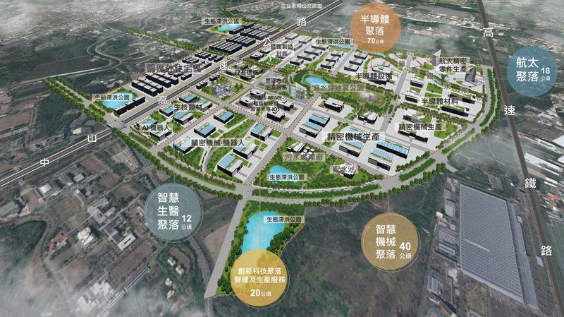 行政院核定橋頭園區籌設計畫 年產值逾千億