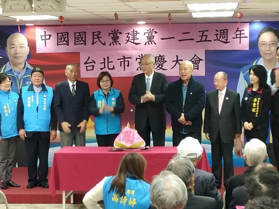 明年大選 吳敦義:國民黨總統、立委、政黨票都要拿第一