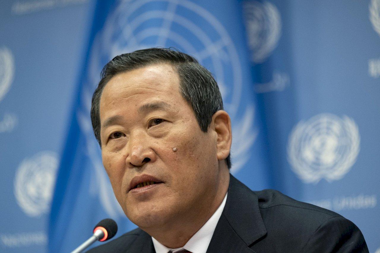 北韓駐聯合國大使:北韓有權測試武器