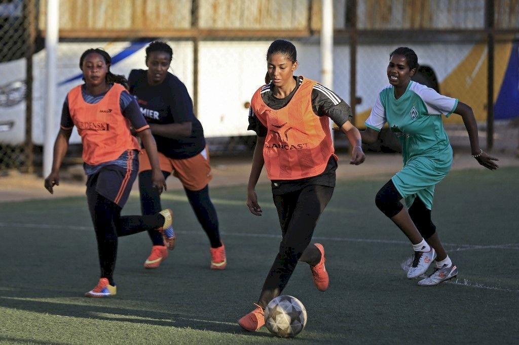蘇丹女權抬頭 首批女子足球明星當見證