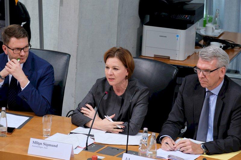 德國外交部:對台接觸可至部長等級