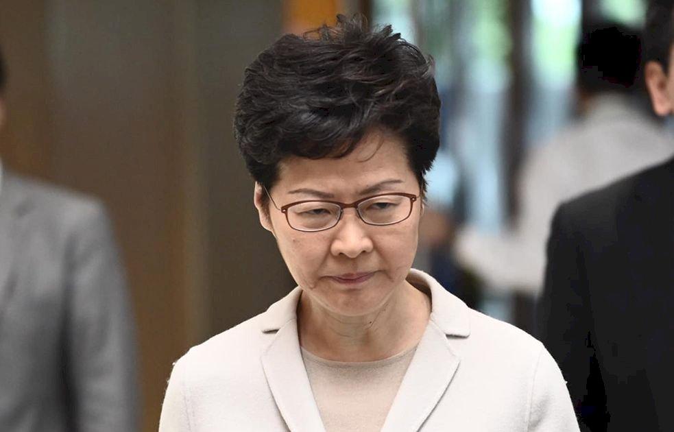林鄭月娥譴責泛民派唱衰香港 難回應其他訴求