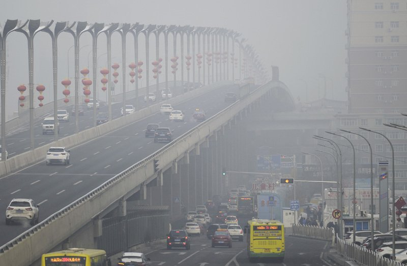 環保監測組織:北京上海今年已4.9萬人因霧霾喪生