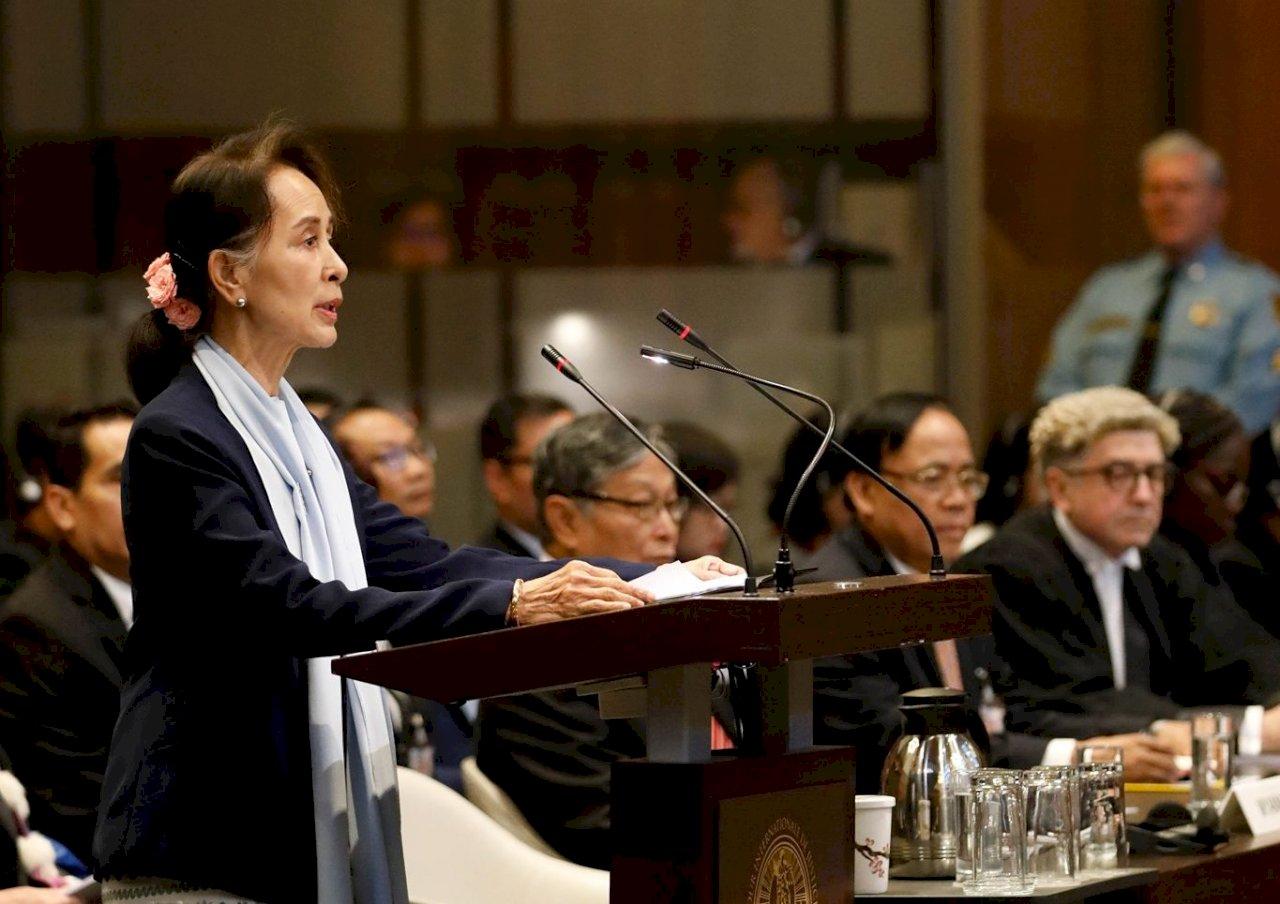 現身國際法院為緬甸辯護 鄉親強烈支持翁山蘇姬