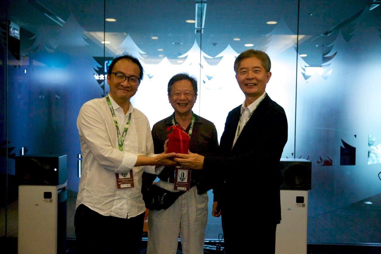 台灣首屆「聲音卓越獎」  3得主獲殊榮