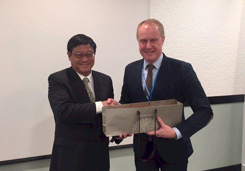 瑞典首度挺台參與聯合國氣候談判