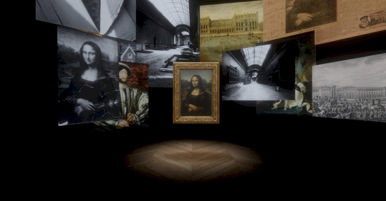 與羅浮宮同步  故宮南院展出「蒙娜麗莎:越界視野」VR作品
