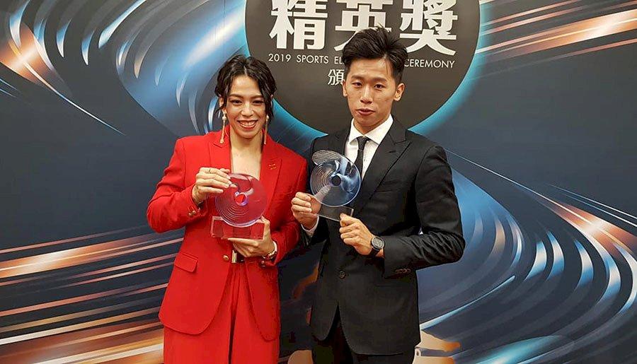 108年體壇精英獎  李智凱、郭婞淳奪最佳男女運動員獎