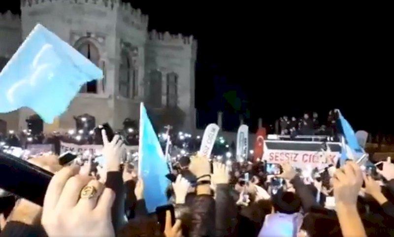 抗議中國鎮壓維吾爾人 土耳其逾千人示威