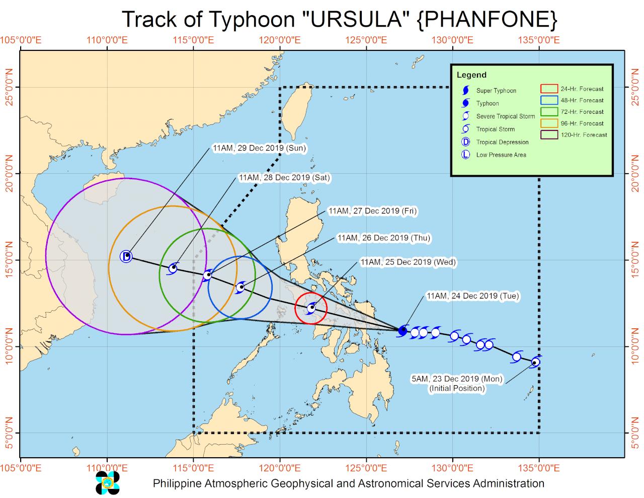 暴風來襲 上萬菲律賓民眾耶誕泡湯